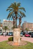 Miasto Sardana statua fotografia royalty free