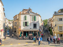 Miasto scena w Arles Zdjęcie Stock