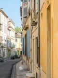 Miasto scena w Arles Zdjęcie Royalty Free