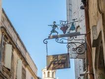 Miasto scena w Arles Obraz Royalty Free