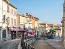 Miasto scena w Arles, Francja Zdjęcie Royalty Free