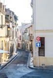 Miasto scena w Arles, Francja Zdjęcia Royalty Free
