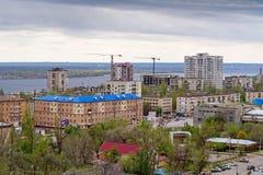 Miasto sceneria - Volgograd, Rosja Fotografia Royalty Free