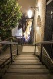 Miasto schodki obraz royalty free