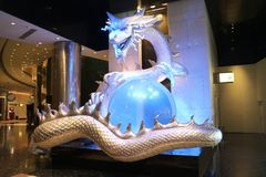 Miasto sen kasyno Macau Obraz Royalty Free