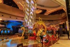 Miasto sen Manila hotel, kasyno i zakupy kompleks, fotografia royalty free