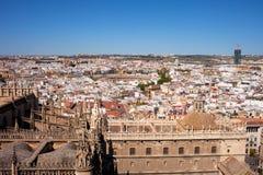 Miasto Seville pejzaż miejski w Hiszpania Obraz Stock