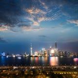 miasto Shanghai Zdjęcia Stock