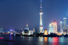 miasto Shanghai Obrazy Royalty Free