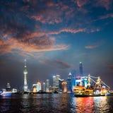 miasto Shanghai Obrazy Stock