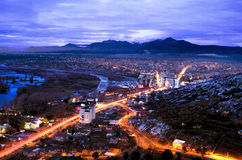 Miasto Shkodra Fotografia Stock