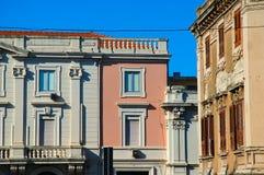 miasto sicilian budynku. Fotografia Stock
