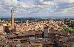 Miasto Siena w Tuscany, Włochy Fotografia Stock