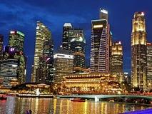 miasto Singapore fotografia stock