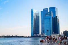 miasto Singapore zdjęcie royalty free