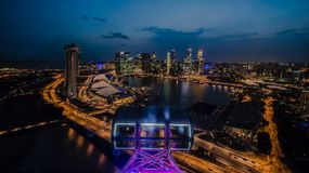 miasto Singapore Obraz Royalty Free