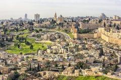 miasto stara Jerusalem Zdjęcia Royalty Free