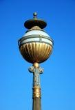 Miasto stara lampa Fotografia Royalty Free