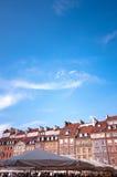 miasto stary kwadratowy Warsaw Fotografia Stock