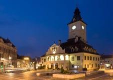miasto stary Romania Transylvania Zdjęcia Royalty Free