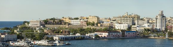 Miasto stary San Juan, Puerto Rico Obrazy Stock