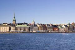 miasto Stockholm zdjęcie stock