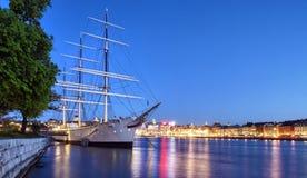 miasto Stockholm fotografia stock