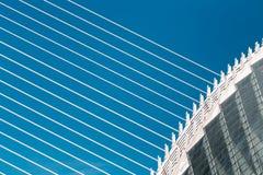 Miasto sztuki i nauki, częściowy widok agora Zdjęcia Stock
