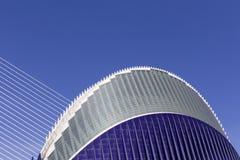 Miasto sztuki i nauki, częściowy widok agora Zdjęcie Stock