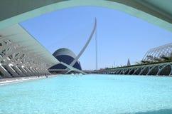 Miasto Sztuki i Nauki w Walencja, Hiszpania Zdjęcie Royalty Free