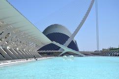 Miasto Sztuki i Nauki w Walencja, Hiszpania Zdjęcia Stock