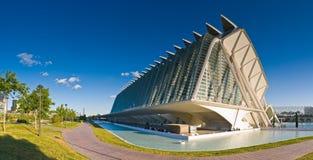 Miasto sztuki i nauki, Walencja, Hiszpania Zdjęcie Stock