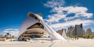 Miasto sztuki i nauki, Walencja, Hiszpania Obrazy Stock