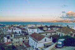 Miasto Tanger, Marocco, 2013 Wiosna w Afryka Widoków strets, natura Zdjęcie Royalty Free