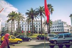 Miasto Tetuan, Marocco, 2013 Wiosna w Afryka Widoków strets, natura Zdjęcie Royalty Free