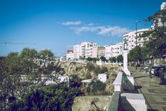 Miasto Tetuan, Marocco, 2013 Wiosna w Afryka Widoków strets, natura Zdjęcia Stock