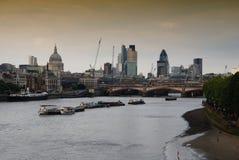 miasto Thames obraz stock