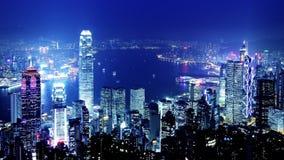 Miasto Timelapse. Hong Kong.  zbiory wideo