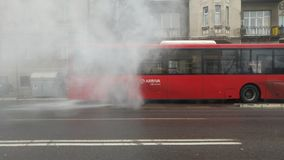 Miasto transport obrazy royalty free