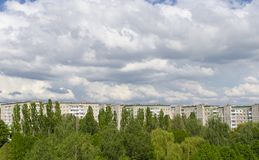 Miasto Ukraina Zdjęcie Stock