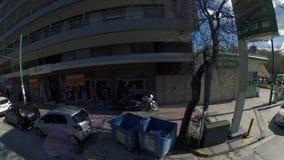 Miasto ulicy Ateny Grecja zdjęcie wideo