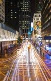 Miasto ulicy Hong Kong, Chiny obrazy royalty free