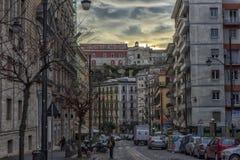 Miasto ulicy w centrum miasta Zdjęcie Royalty Free