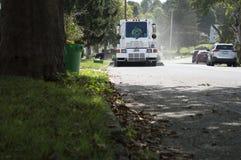 Miasto ulicznego wymiatacza ogólny cleaning droga Obrazy Royalty Free