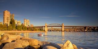 Miasto Vancouver BC Kanada Fotografia Stock