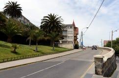 Miasto vina Del Mącący administracyjny centrum homonimiczny zarząd miasta, część prowincja Valparaiso Zdjęcie Stock