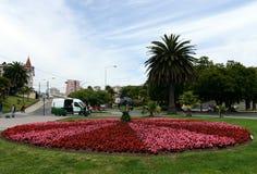Miasto vina Del Mącący administracyjny centrum homonimiczny zarząd miasta, część prowincja Valparaiso Fotografia Royalty Free