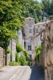 Miasto Vogà ¼ e w Ardèche, Francja zdjęcie stock