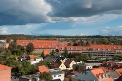 Miasto Vordingborg w Dani zdjęcia royalty free
