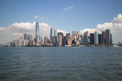 miasto w centrum Manhattan nowy York Obrazy Royalty Free